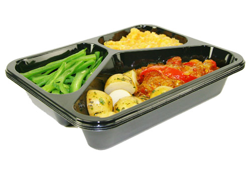 Dual Ovenable Trays